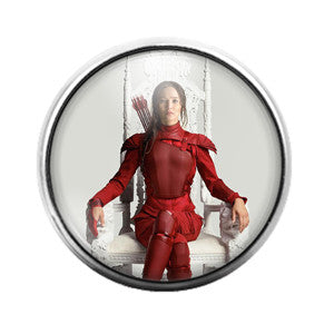 Hunger Games - 18MM Glass Dome Candy Snap Charm GD0382