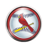 Cardinals - 18MM Glass Dome Candy Snap Charm GD0418