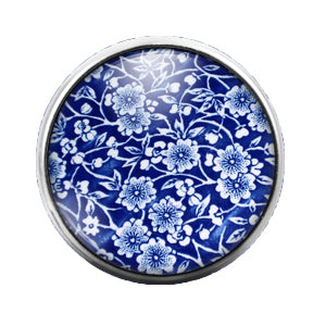 Pattern - 18MM Glass Dome Candy Snap Charm GD0539