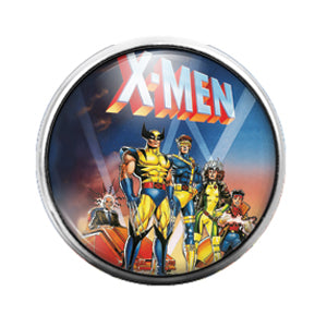 XMEN - 18MM Glass Dome Candy Snap Charm GD0751