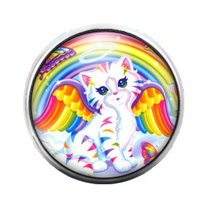 Lisa Frank - 18MM Glass Dome Candy Snap Charm GD0530
