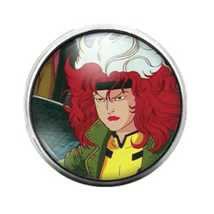 Rogue - 18MM Glass Dome Candy Snap Charm GD0749