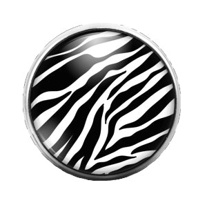 Animal Print - 18MM Glass Dome Candy Snap Charm GD0508