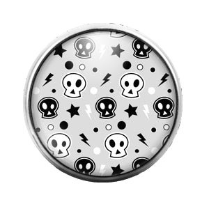 Halloween - 18MM Glass Dome Candy Snap Charm GD0490