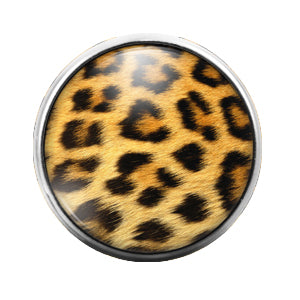 Animal Print - 18MM Glass Dome Candy Snap Charm GD0509