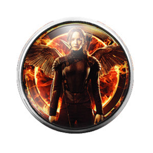 Hunger Games - 18MM Glass Dome Candy Snap Charm GD0384