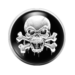Halloween - 18MM Glass Dome Candy Snap Charm GD0488