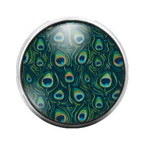 Animal Print - 18MM Glass Dome Candy Snap Charm GD0510