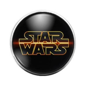 Star Wars- 18MM Glass Dome Candy Snap Charm GD1119