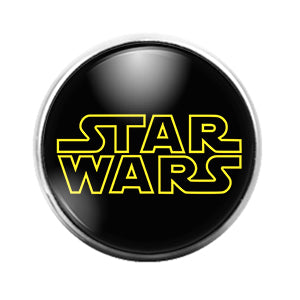 Star Wars - 18MM Glass Dome Candy Snap Charm GD1226