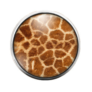 Animal Print - 18MM Glass Dome Candy Snap Charm GD0511
