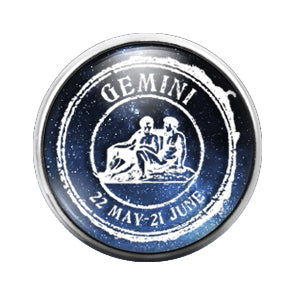 Astrology - 18MM Glass Dome Candy Snap Charm GD0554