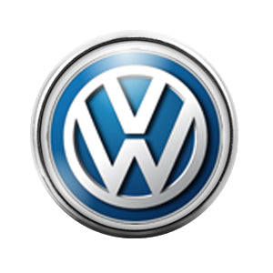 Volkswagon Car Logo - 18MM Glass Dome Candy Snap Charm GD0444