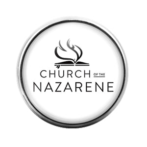 Church of the Nazarene- 18MM Glass Dome Candy Snap Charm GD1172