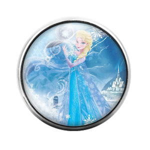 Frozen - 18MM Glass Dome Candy Snap Charm GD1257