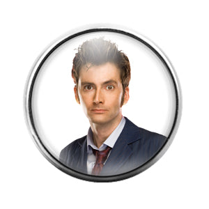 Doctor Who- 18MM Glass Dome Candy Snap Charm GD1082