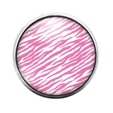 Animal Print - 18MM Glass Dome Candy Snap Charm GD0582