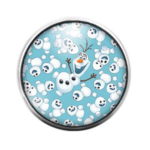 Frozen - 18MM Glass Dome Candy Snap Charm GD1258