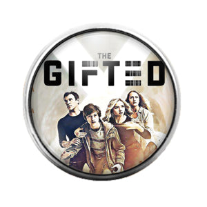 The Gifted - 18MM Glass Dome Candy Snap Charm GD0738