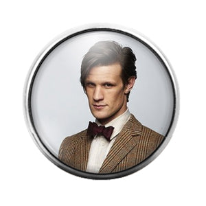 Doctor Who- 18MM Glass Dome Candy Snap Charm GD1083