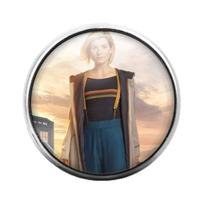 Doctor Who- 18MM Glass Dome Candy Snap Charm GD1084