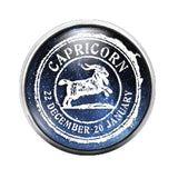 Astrology - 18MM Glass Dome Candy Snap Charm GD0558
