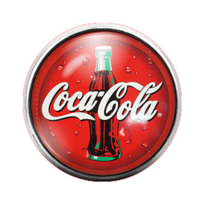 Coca Cola - 18MM Glass Dome Candy Snap Charm GD0645