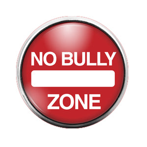 Stop Bullying - 18MM Glass Dome Candy Snap Charm GD0579