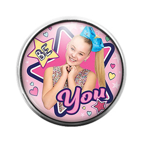 Jojo Siwa- 18MM Glass Dome Candy Snap Charm GD1137