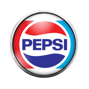 Pepsi - 18MM Glass Dome Candy Snap Charm GD0647