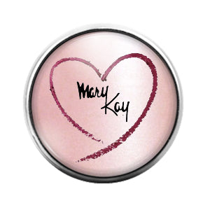 Mary Kay - 18MM Glass Dome Candy Snap Charm GD1249