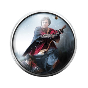 Harry Potter - 18MM Glass Dome Candy Snap Charm GD0744