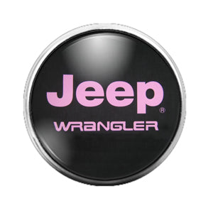 Jeep - 18MM Glass Dome Candy Snap Charm GD0648