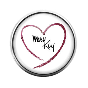 Mary Kay - 18MM Glass Dome Candy Snap Charm GD1250