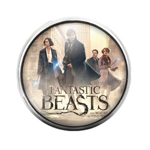 Fantastic Beasts - 18MM Glass Dome Candy Snap Charm GD0752