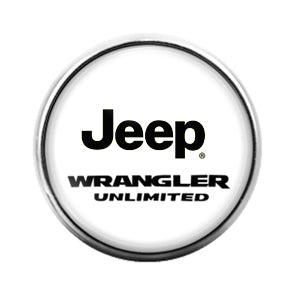 Jeep - 18MM Glass Dome Candy Snap Charm GD0649