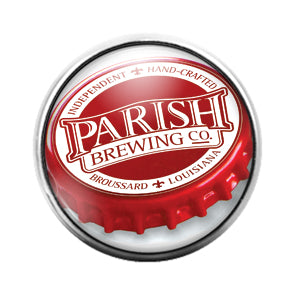 Parish Brewing Beer - 18MM Glass Dome Candy Snap Charm GD0698