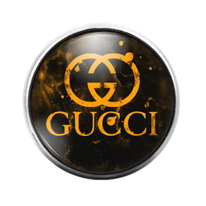 Gucci - 18MM Glass Dome Candy Snap Charm GD1508