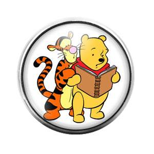 Winnie the Pooh - 18MM Glass Dome Candy Snap Charm GD0728