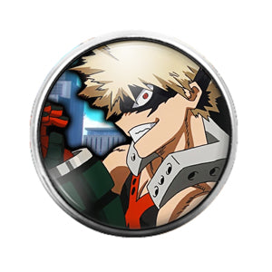 Anime - 18MM Glass Dome Candy Snap Charm GD0462