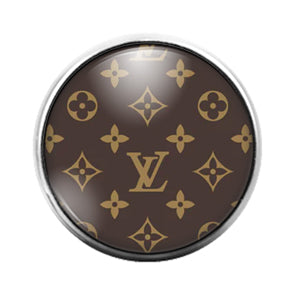 Louis Vuitton - 18MM Glass Dome Candy Snap Charm GD1510