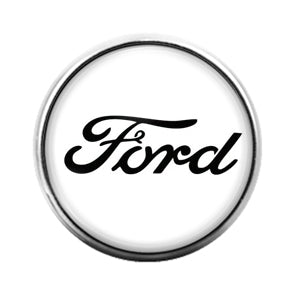 Ford- 18MM Glass Dome Candy Snap Charm GD1126