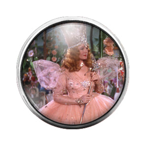 Wizard of Oz - 18MM Glass Dome Candy Snap Charm GD0780