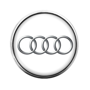 Audi Car - 18MM Glass Dome Candy Snap Charm GD1219