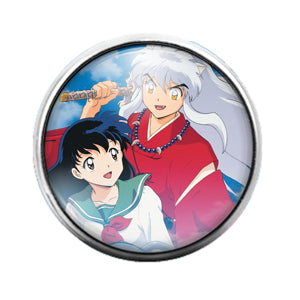 Anime - 18MM Glass Dome Candy Snap Charm GD0466