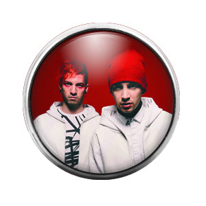 Twenty One Pilots - 18MM Glass Dome Candy Snap Charm GD1375