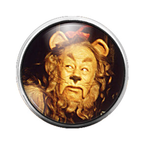 Wizard of Oz - 18MM Glass Dome Candy Snap Charm GD0781