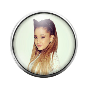 Ariana Grande- 18MM Glass Dome Candy Snap Charm GD1374