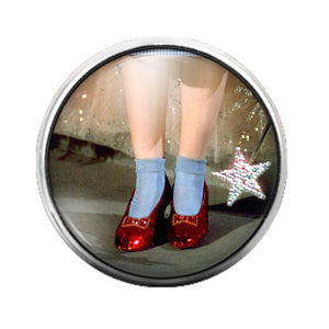 Wizard of Oz - 18MM Glass Dome Candy Snap Charm GD0782