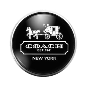 Coach - 18MM Glass Dome Candy Snap Charm GD1514